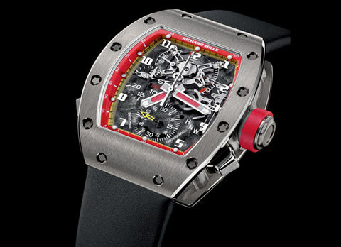 Richard Mille The Split Seconds Chronograph - Crystal group