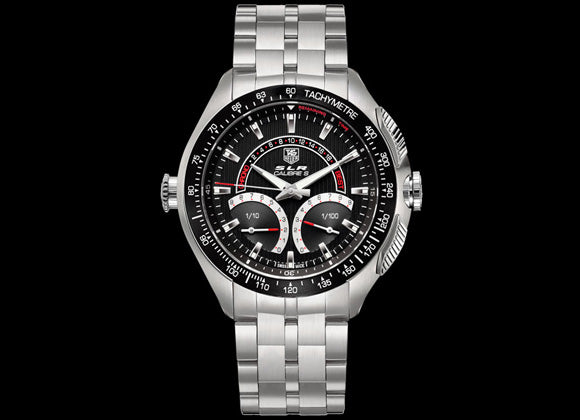 TAG Heuer SLR Calibre S Laptimer - Crystal group