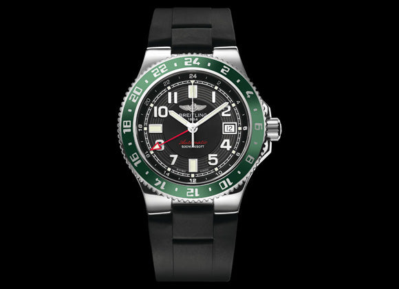 Breitling Superocean GMT - Crystal group