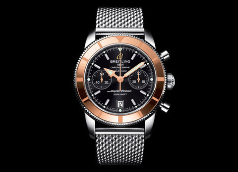 Breitling SUPEROCEAN HERITAGE CHRONOGRAPHE 44 - Crystal group
