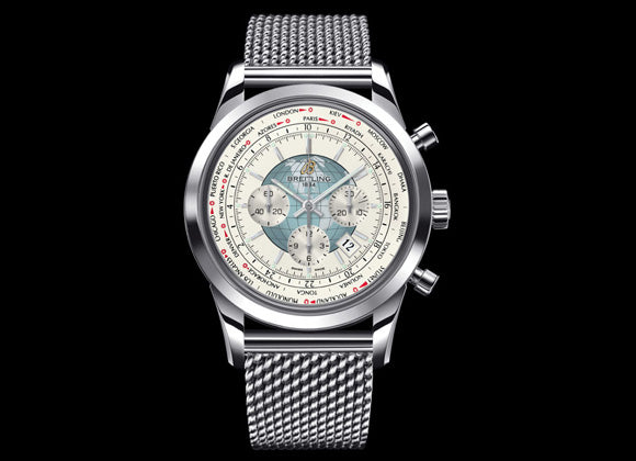 Breitling Transocean Chronograph Unitime - Crystal group