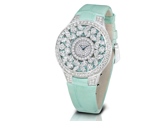 Graff watches Butterfly Motif Watch With Paraiba tourmalines