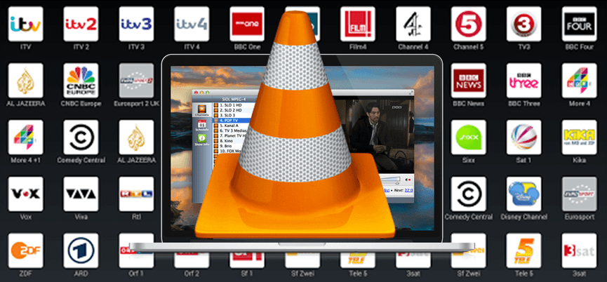 Regarder IPTV sur PC – Ordinateur -Watch IPTV in your PC VLC M3u Live