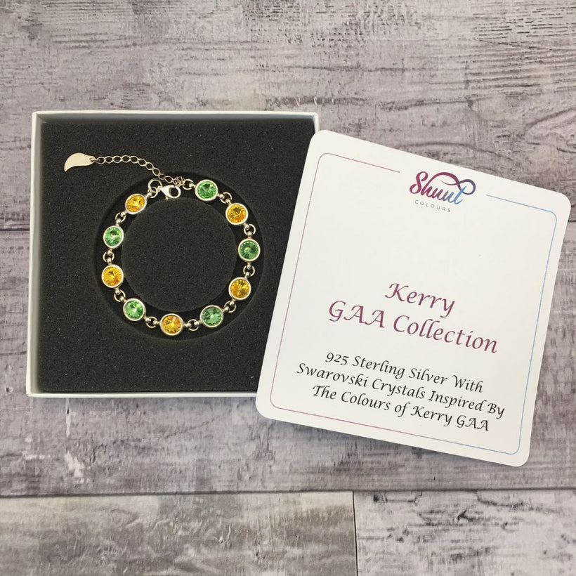 Sterling Silver Bracelets Inspired By County Colours