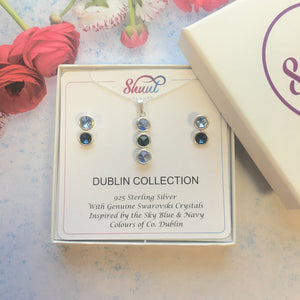 GAA Pendant & Earrings Set