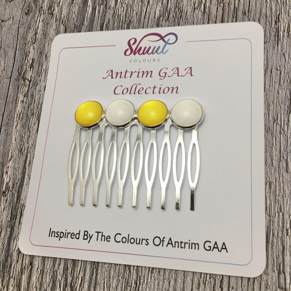 Antrim GAA County Colour Hair Slide Clip
