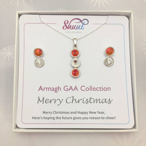Armagh GAA Christmas Jewellery Set