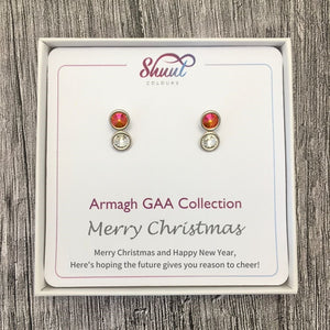 Armagh GAA Earrings - Christmas Gift Set