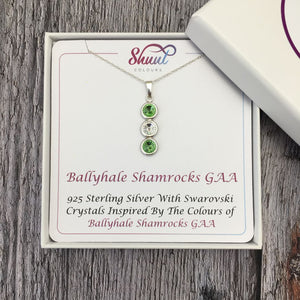 Create Your Own GAA Club Colours Sterling Silver Pendant - Shuul