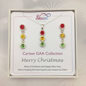 Carlow GAA Christmas Jewellery Set