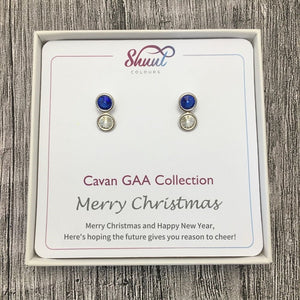 Cavan GAA Earrings - Christmas Gift Set