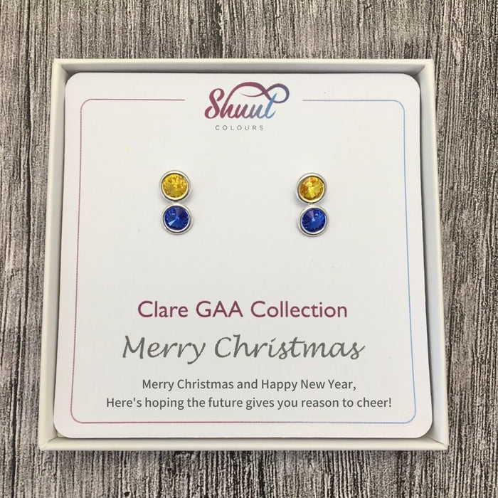 Clare GAA Stud Earrings Christmas Gift