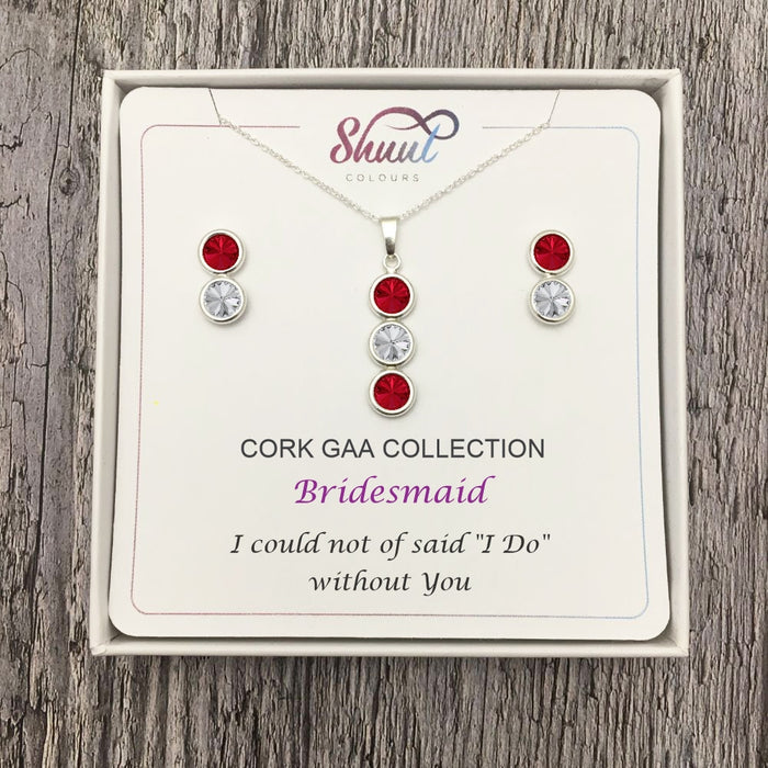 Bridesmaid Gift Ideas - Personalised GAA Jewellery For Bridesmaids