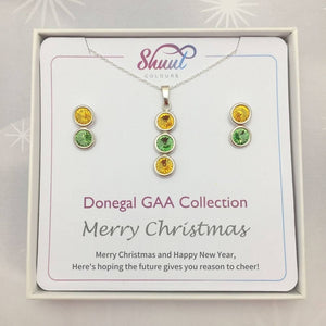 Donegal GAA Christmas Jewellery Set