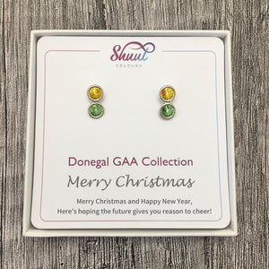 Donegal GAA Earrings - Christmas Gift Set