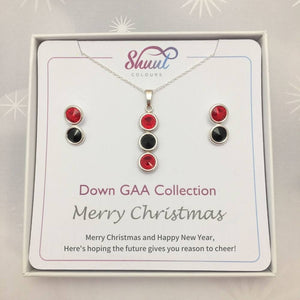 Down GAA Christmas Jewellery Set