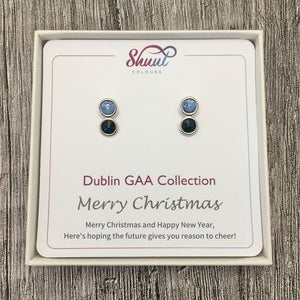 Dublin GAA Earrings - Christmas Gift Set