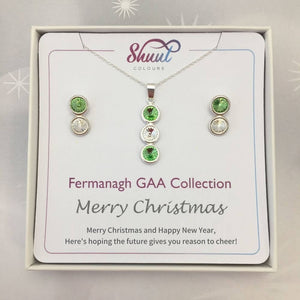 Fermanagh GAA Christmas Jewellery Set