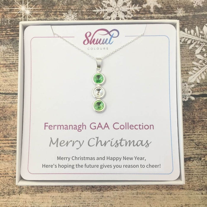 Fermanagh GAA Christmas Gift - Sterling Silver Pendant