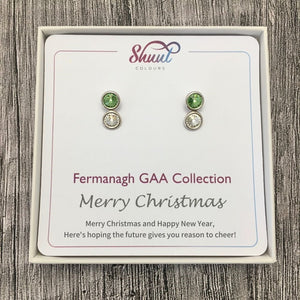 Fermanagh GAA Earrings - Christmas Gift Set