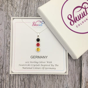 Country National Colours Pendant - Shuul