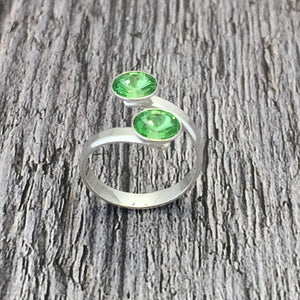 Limerick GAA Sterling Silver Ring with Swarovski Crystals - Shuul