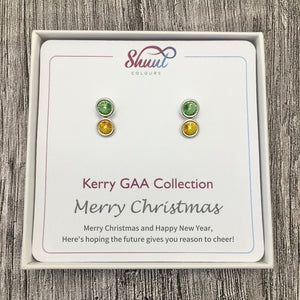 Kerry GAA Earrings - Christmas Gift Set