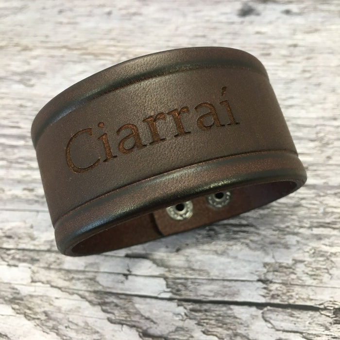 Kerry GAA Leather Bracelet - Unisex