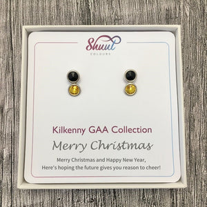Kilkenny GAA Earrings - Christmas Gift Set