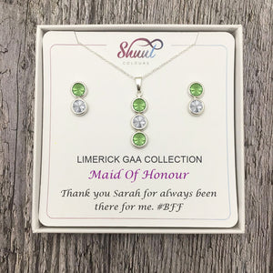 Bridesmaid Gift Ideas - Personalised GAA Jewellery For Bridesmaids - Shuul