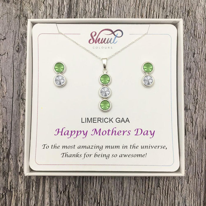 Mothers Day Gift Set - Personalised GAA County Colour Jewellery Gifts