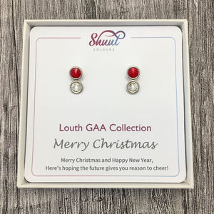 Louth GAA Earrings - Christmas Gift Set