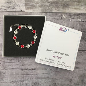 GAA Gift For Sister - Swarovski County Colour Bracelet - Shuul