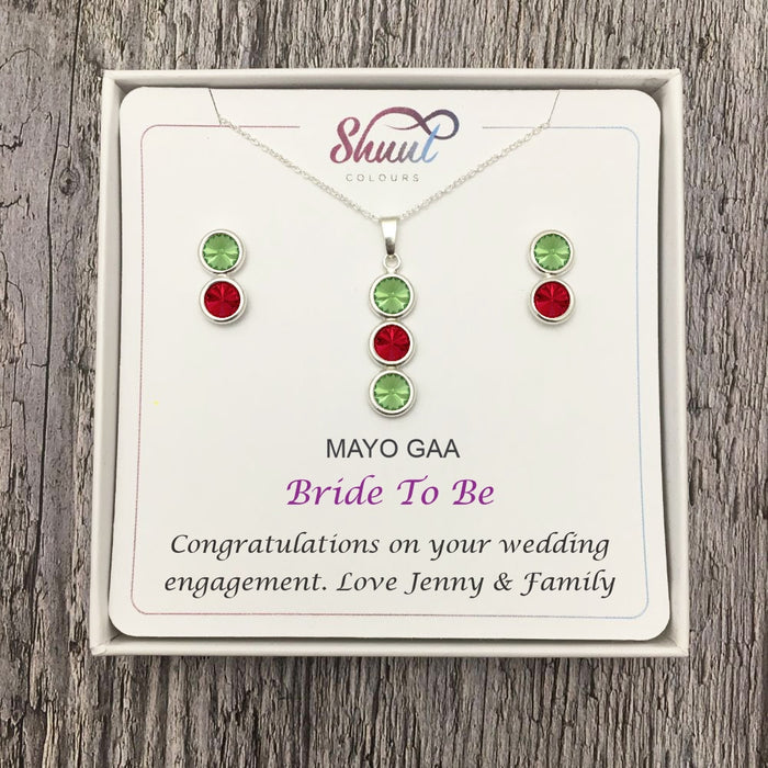 Engagement Gift For Her - Personalised GAA Bride To Be Gifts