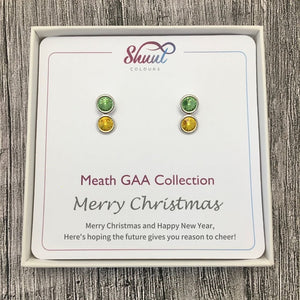 Meath GAA Earrings - Christmas Gift Set