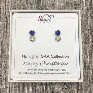 Monaghan GAA Earrings - Christmas Gift Set