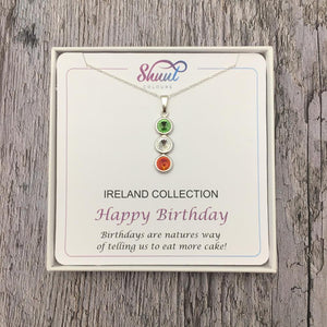 Rugby Birthday Gift Pendant - Connacht, Leinster, Munster, Ulster, Ireland - Shuul