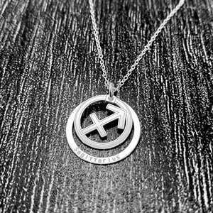 Sagittarius Star Sign Necklace Pendant