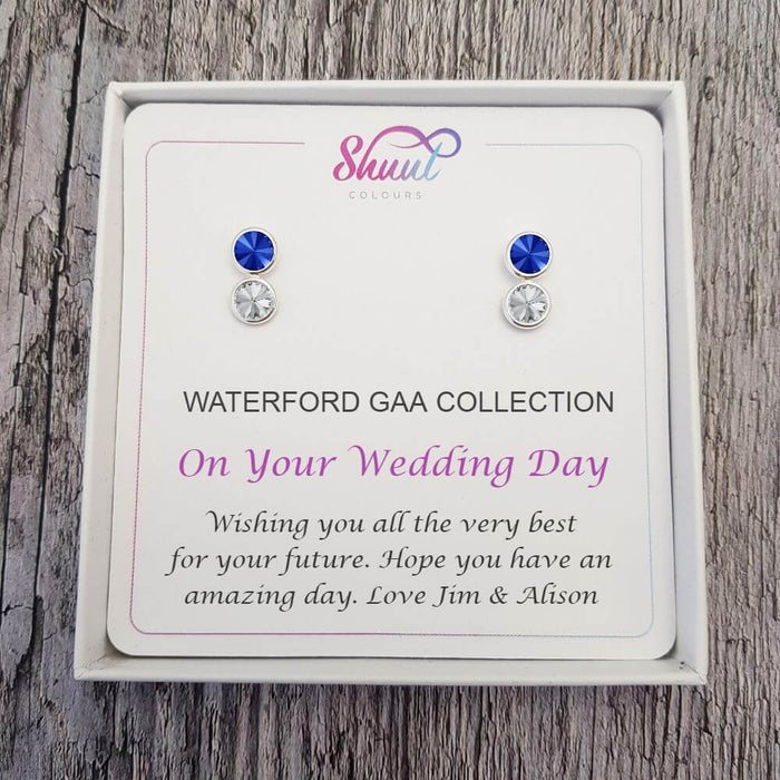 Personalised GAA Gift Earrings - Bridal Earring Gift Set