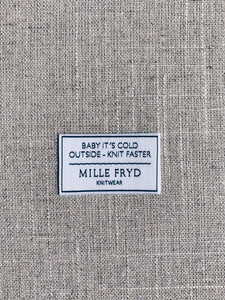 Baby It's Cold Outside - Knit Faster - label