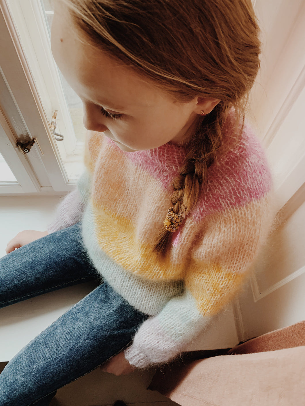 Madeline Sweater x Mohair Junior