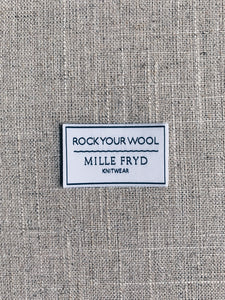 Rock Your Wool - label