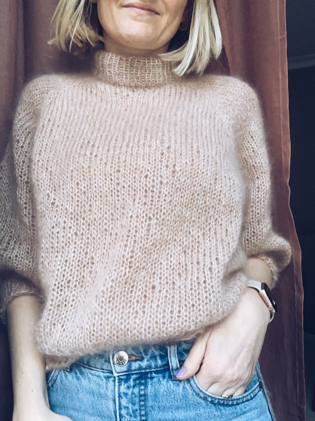 Madeline Sweater x Mohair