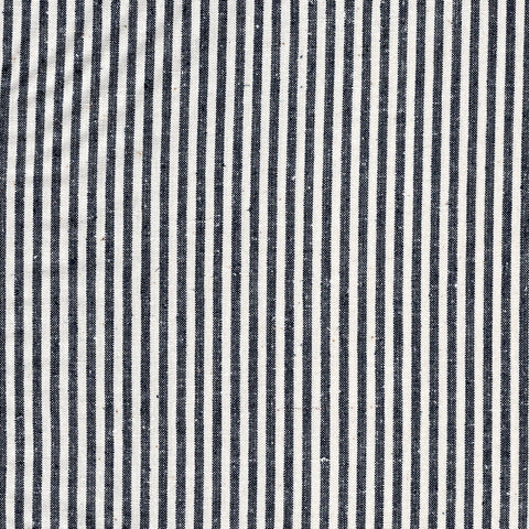 Hemp & Cotton Stripe – Indigo