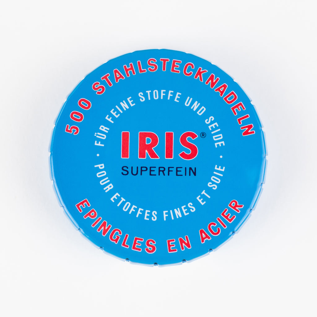Iris Superfein Swiss Pins