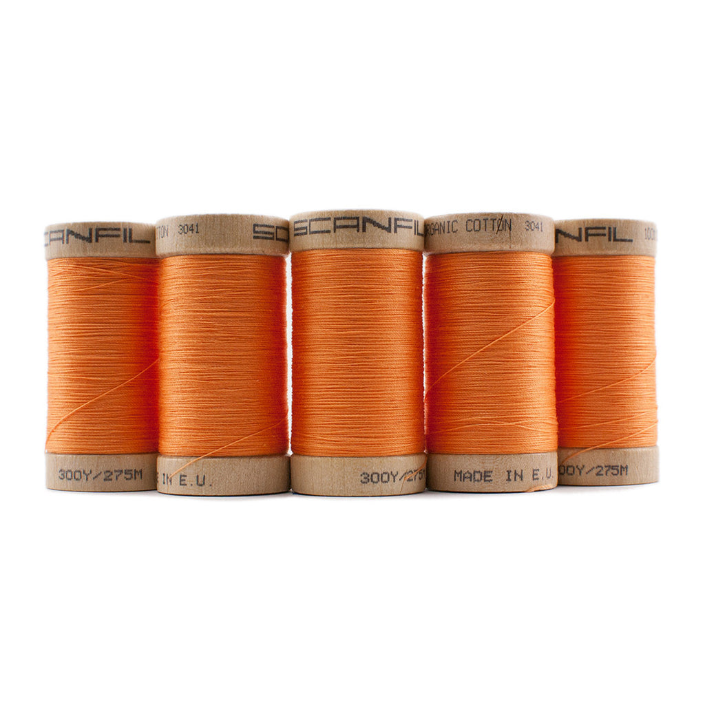 Tangerine Scanfil Thread