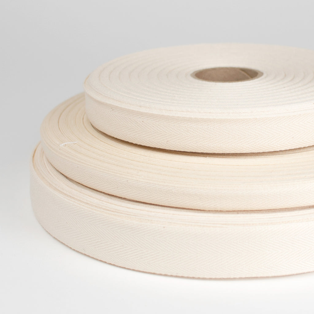 Organic Cotton Twill Tape