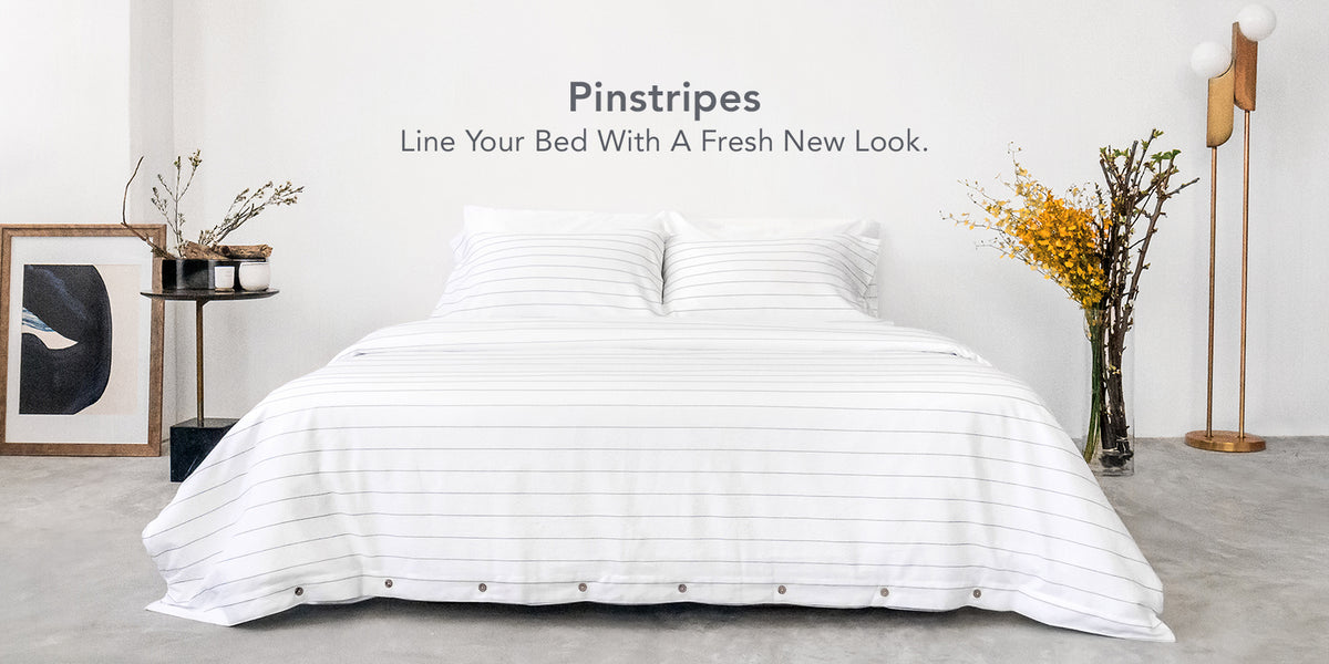 SOJAO Pinstripes Bedsheets