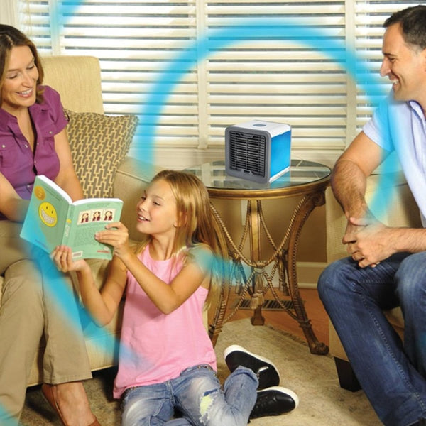 Mini Climatiseur 3 en 1 Humidificateur et Purificateur - Europe Deal