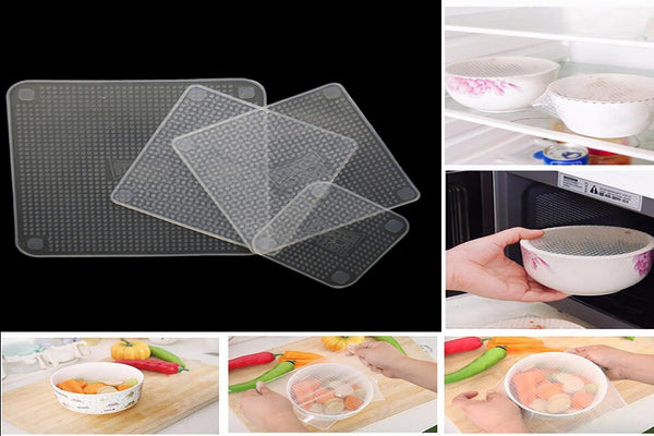 Incroyable Silicone Alimentaire Wraps Couverture - Europe Deal